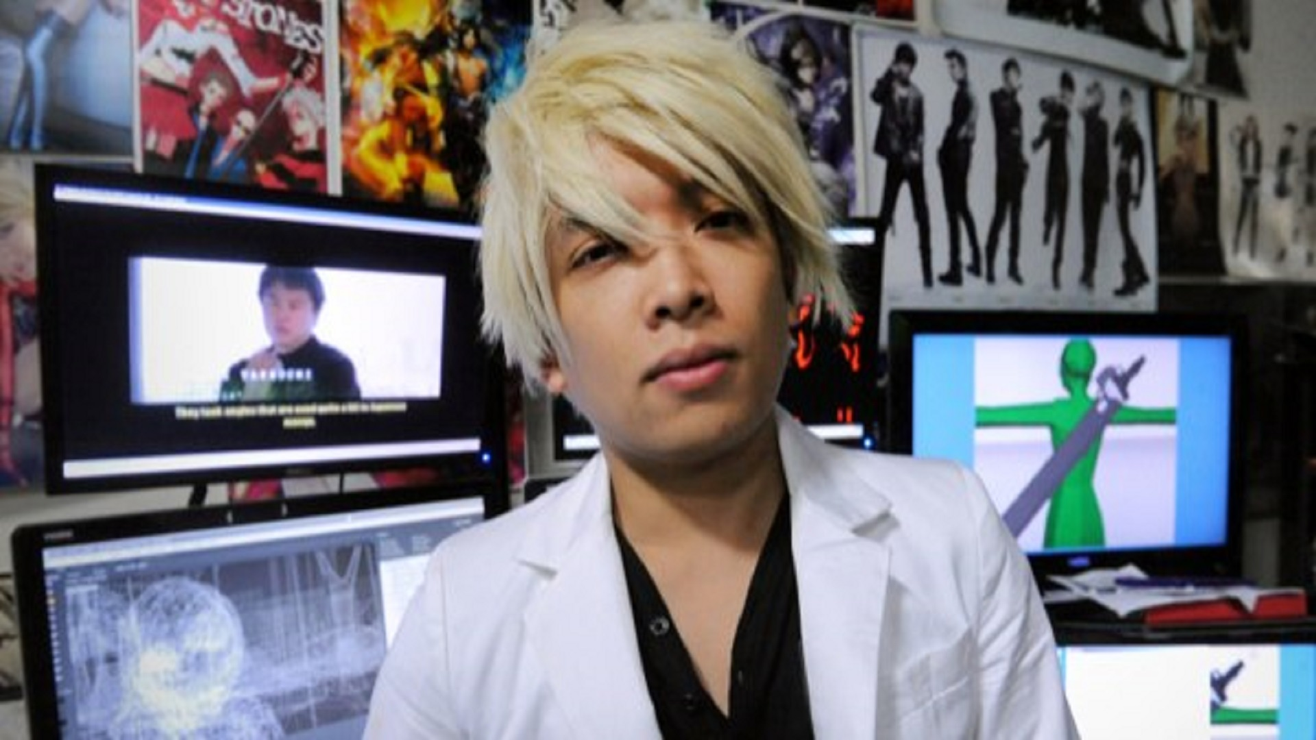 Monty Oum of Rooster Teeth on July 12, 2013